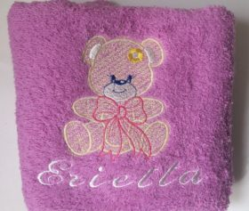 face_towel_bear_handmade