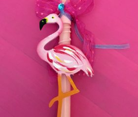 Easter_candle_flamingo2
