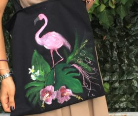handbag_flamingo